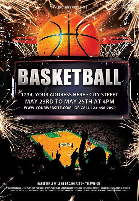 basketball psd flyer template psd flyer templates flyer