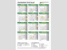 Calendario 2018 brasil 4 2019 2018 Calendar Printable