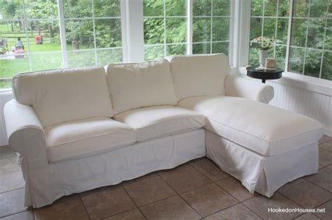 Ikea Ektorp Sofa With Chaise by Decorating Update A New Sofa In My Sunroom Living Room