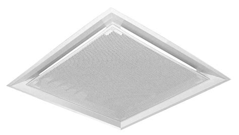drop plaque perforated ceiling diffuser dpp air