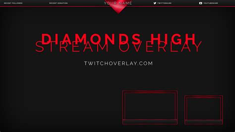 twitch notification images template psd free stream overlays graphics