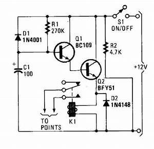 Car Immobilizer Circuit - Basic Circuit