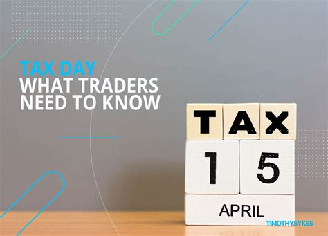 tax day  traders    timothy sykes