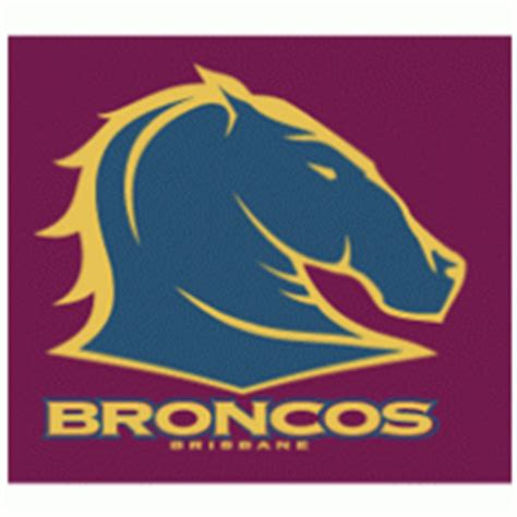 The brisbane broncos rugby league football club ltd., commonly referred to as the broncos, are an australian professional rugby league football club based in the city of brisbane. Broncos | Brands of the World™ | Download vector logos and logotypes