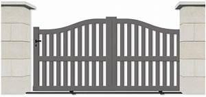 Portail Aluminium Pas Cher : portail aluminium pas cher ~ Melissatoandfro.com Idées de Décoration