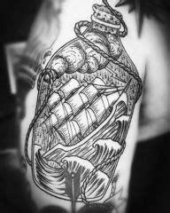 Ship in bottle nautical tattoos. Best Tattoo Shop Brooklyn