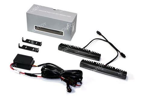 luxeon high power fiber optics led daytime running light kit