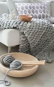Grob Gestrickte Tagesdecke : 25 einzigartige chunky knit decke ideen auf pinterest ~ Whattoseeinmadrid.com Haus und Dekorationen