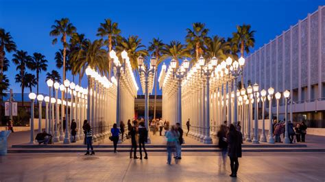 lights lacma hours l a s iconic installation light by chris burden