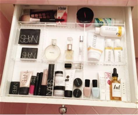 bathroom drawer organization custom acrylic drawer