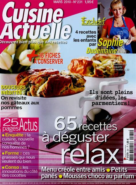 prismashop cuisine actuelle cuisine actuelle n 231 tom press