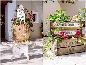 Deco Bois Et Blanc : 1001 id es g niales de d coration champ tre pour votre mariage ~ Melissatoandfro.com Idées de Décoration