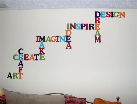 word for decor 17 best ideas about wall word on quotes and sweet