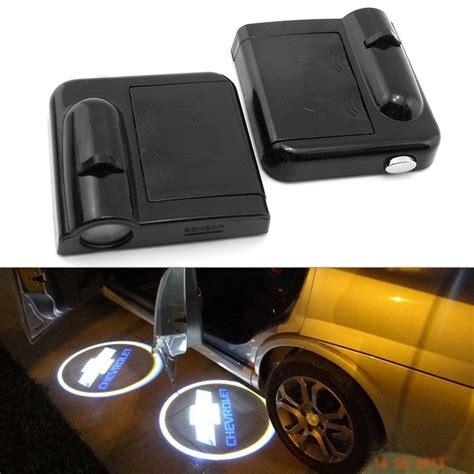 Door Projector Lights by 2pcs Wireless Car Led Door Logo Projector Ghost Shadow