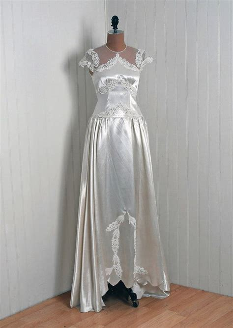 17 best images about 1930 1940 s bridal dresses on