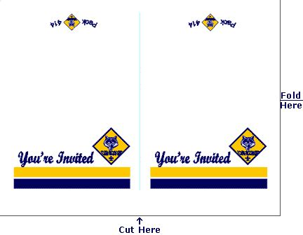 pin  blue  gold cub scout ideas