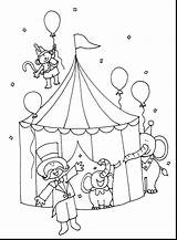 Circus Coloring Pages Ringmaster Tent Printable Getdrawings Adults sketch template