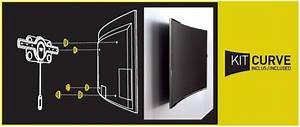 Support Tv 65 Pouces : support mural tv incurve ~ Dailycaller-alerts.com Idées de Décoration