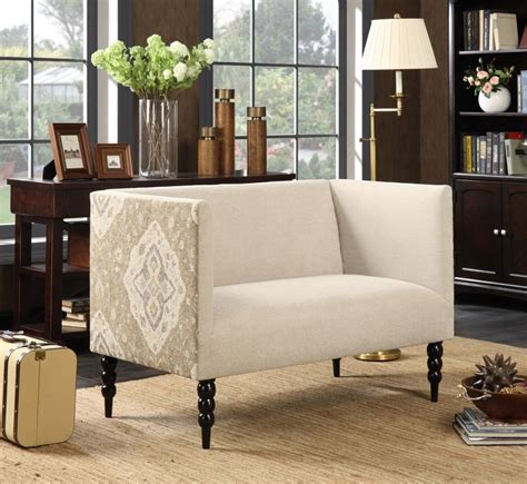 Wood Settee Furniture by Beige Wood Settee A Sofa Furniture Outlet Los