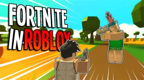 roblox fortnite gameplay roblox island royale  fortnite