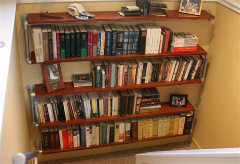 Build A Bookcase Wall by Build A Wall Mounted Bookshelf