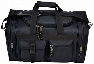 20 Inches Black SWAT Police Duffle Duty Bag Hunting Carry ...