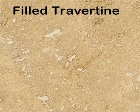 how to fill repair holes in travertine limestone floor
