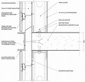 curtain wall slab detail - Google Search | подача in 2018 ...