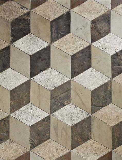 antique reclaimed 3d floor tiles traditional wall