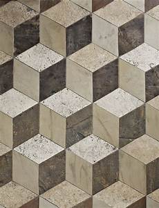 Antique Reclaimed 3D Floor Tiles - Traditional - Wall And