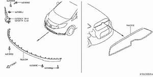 Nissan Versa Note Spoiler  Front