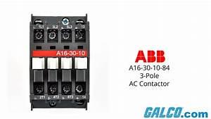 Abb A16-30-10-84 3-pole Contactor