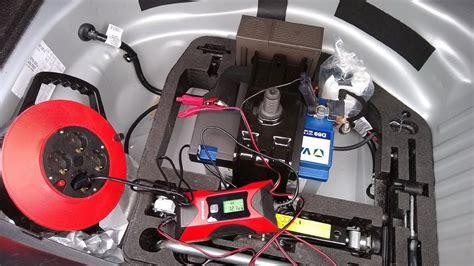batterie laden auto audi a4 8k b8 car battery charge charging batterie
