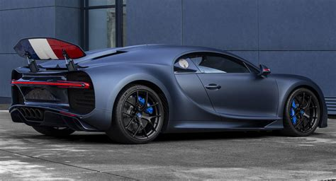 One look at the two bugatti chiron noire exclusive special edition models and you already know what it's all about. Bugatti Chiron Sport '110 Ans' Salutes France From New York City   Carscoops
