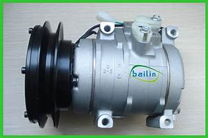 China Auto Ac Compressor For Komatsu Excavator
