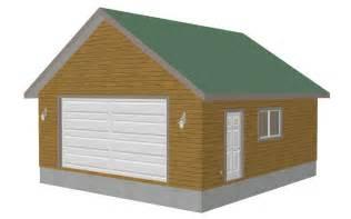 detached garage floor plans g379 8002 11 24 x 26 x 9 detached garage plans sds plans