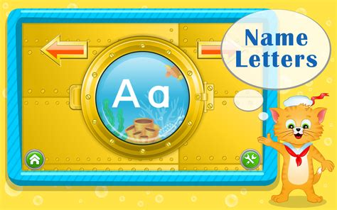 Boat Names That Start With B by Learn Abc Letters With Captain Cat Android Apps On