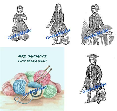 gaugains knit polka book knitting pattern books