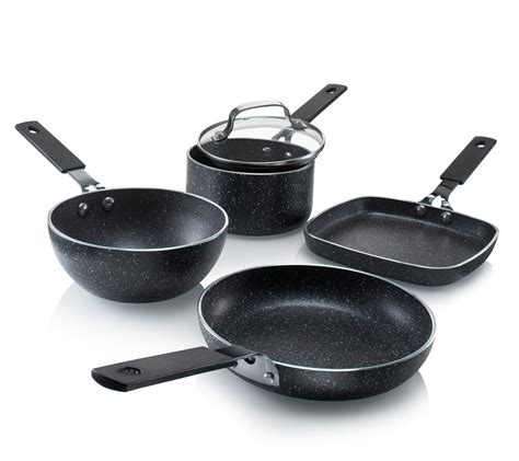 granite cookware stone stackmaster mini piece pan gotham steel nonstick wok griddle granitestone kitchen diamond fry grill sized personal seen