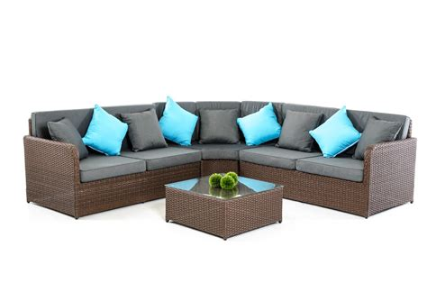 renava san clemente modern outdoor sectional set