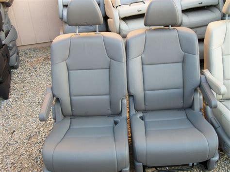 On Sale 2 Bucket Seats Charcoal Leather Truck Van Classic