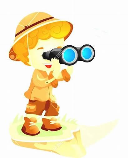 Clipart Child Adventure Jungle Rainforest Kid Explore