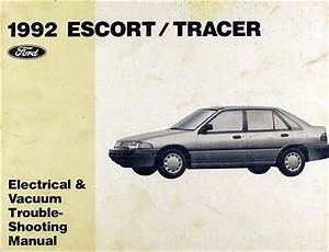 1992 Ford Escort And Mercury Tracer Wiring Diagram Original