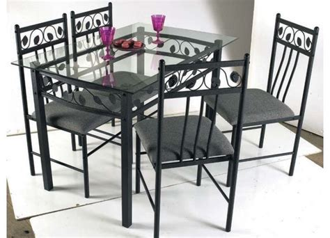 table en verre pietement metal clasf