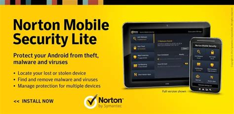 norton mobile security android antivirus for android free security apps for android