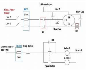 The Control Circuit Wiring Diagram