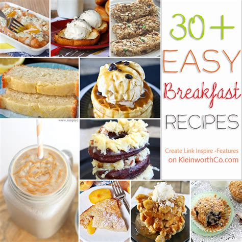 30 easy breakfast recipes kleinworth co