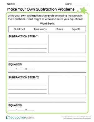 create your own animal worksheet education