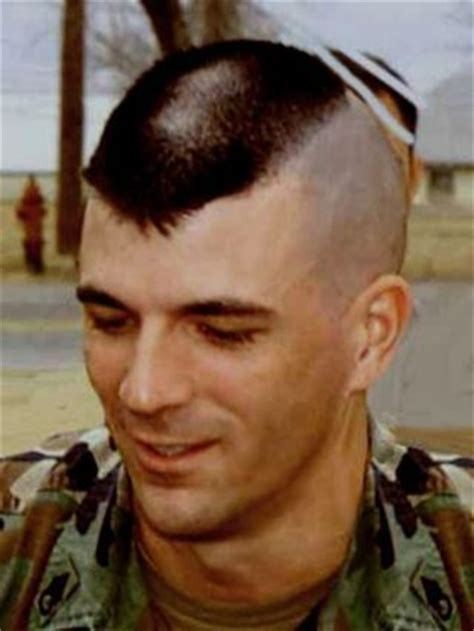 military haircut landing strip haircut mens hair