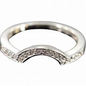 14K 018 CTW Diamond Wrap Around Wedding Band Ring Size